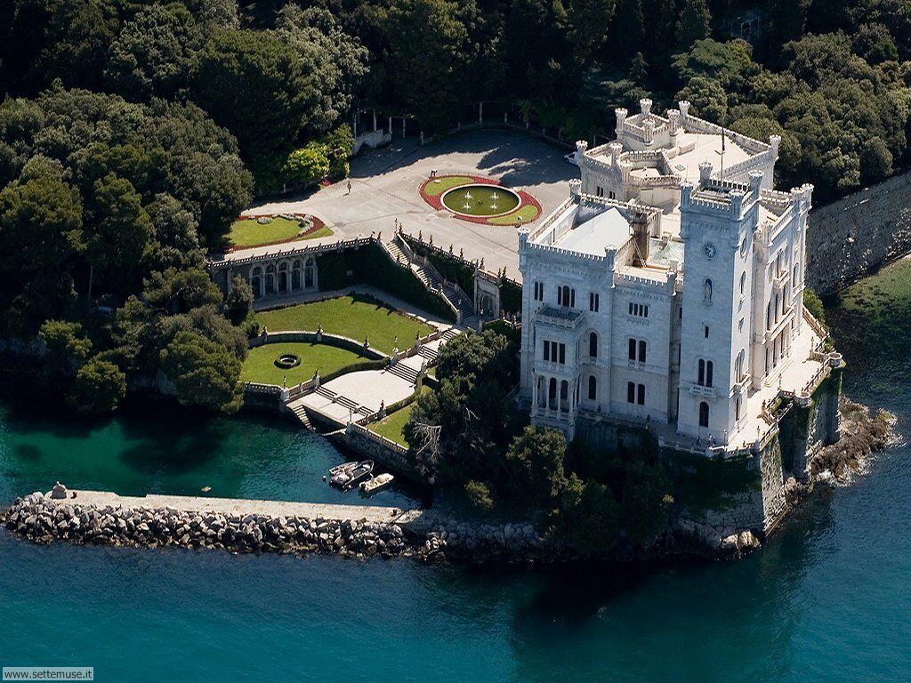 Museo Storico e il Parco del Castello di Miramare