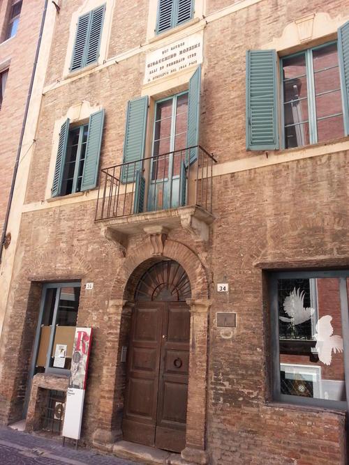 Art bonus casa natale di g rossini pesaro - Categoria a3 casa ...